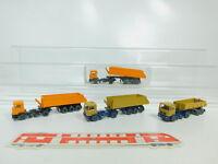 BO500-0,5# 4x Wiking H0/1:87 Sattelzug/Hinterkipper MAN: 676 26 etc, NEUW+1x OVP