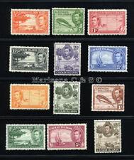 CAYMAN ISLANDS 1938 SG 115-126 SC 100-111 VF OG MLH * RARE COMPLETE SET 12 STAMP