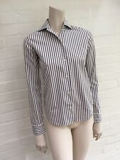 Brian & Barry MILANO BESPOKE OFFICE STRIPED BUTTON-UP SHIRT COTTON I 40 UK 8 S