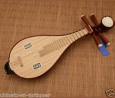 New Rosewood Liuqin, Chinese Soprano Pipa Lute Guitar Musical Instrument #4029