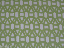 """HARLEQUIN SCION CURTAIN FABRIC DESIGN """"Lace"""" 2 METRES LIME AND NEUTRAL"""