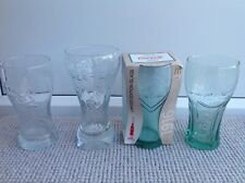 4 X Various McDonalds Coca-Cola Glasses London Olympics FIFA Germany 1916