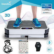 Skandika Home Vibration Plate 900 Plus Vibrationsplatte 3D-Vibrationen grau NEU