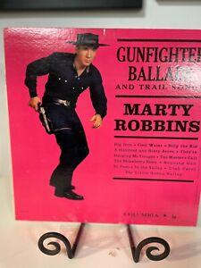 MARTY ROBBINS GUNFIGHTER BALLADS NM SOUND  COLUMBIA LP