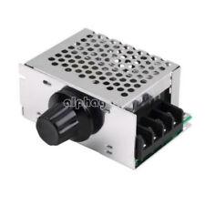 4000W 220V AC SCR Electric Voltage Regulator Dimmer Motor Speed Controller+Case