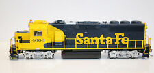Fox Valley HO GP60 ATSF Santa Fe #4001 DCC Ready ~ Working Lights & Beacon ~ NEW