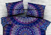 Indian Ethnic Bed Decor Throw Cushion Mandala Bohemian Cotton Pillow Sham Boho