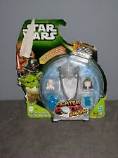 HASBRO Figurine jouet STAR WARS PODS RAMPAGE battle game  sous blister