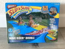 Wham-O SLIP N SLIDE Wave Rider Double Inflatable Slide with 2 Boogies included!