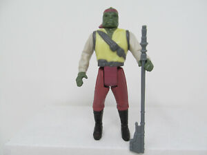 Barada reproduction Stan Solo action figure w/ weapon. Vintage-style Star Wars