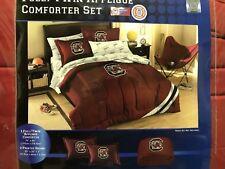 NCAA South Carolina Gamecocks Twin/Full Sized Comforter with Shams
