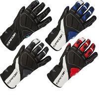 Spada Burnout Motorcycle Motorbike Leather Gloves