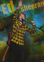 ED SHEERAN - A2 Poster (XL - 42 x 55 cm) - Clippings Fan Sammlung NEU