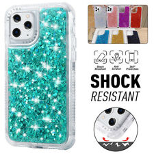 For iPhone 13 12 11 Pro Max XR X/XS 8/7 Plus Bling Glitter Case Shockproof Cover