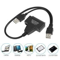 "USB 3.0 To SATA External Converter Adapter Cable For 2.5"" 3.5"" HDD SSD SATA III"