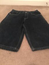 South Pole Men's Blue Denim Jean Shorts Sz 34 Clothes