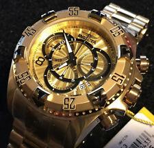 New Invicta Excursion Gold Tone Quartz Chronograph Watch Model 24263