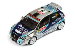 1/43 IXO RAM389 Volkswagen Polo S2000 2009 Ypres Rally # 9 Snijers & Cokelaere