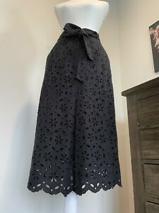 Zimmermann 1 Emproided Black Skirt Midi Size 1 Fits AU8-10