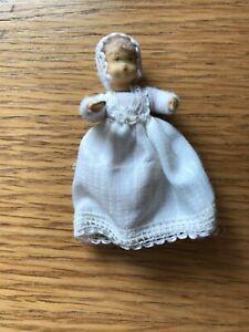BEDIENUNG Stand Puppe Polyresin 2  Puppenhaus Miniatur Puppe 1:12