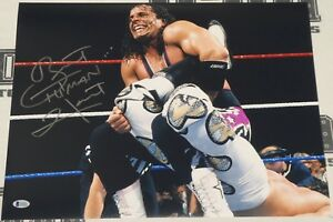 Bret Hart Signed WWE 16x20 Photo BAS Beckett COA Pro Wrestling Picture Autograph