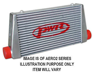 """PWR Street Series Intercooler - Core 500x300x68mm, 3"""" Outlets PWI78879"""