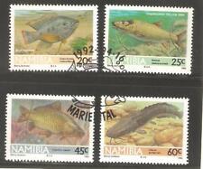 1992   NAMIBIA  -  SG   588 / 591  -  FRESHWATER FISH  -  USED
