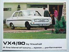 Prospekt Vauxhall VX 4/90, 11.1966, 4 Seiten, englische Sprache