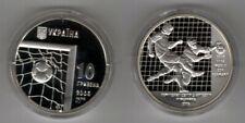 UKRAINE   10 Hryven 2004   FIFA WM Germany   Silber/PP
