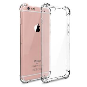 Lot Hybrid Shockproof Clear TPU Bumper Case Fits iPhone 6/7/8 Plus XS XR MAX