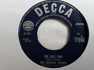 """The Rolling Stones - The Last Time - 7"""" Vinyl Single"""