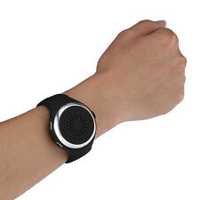 Multifunctional Wearable Sport Bluetooth Speaker Watch FM Radio Handsfree MP3 Mu