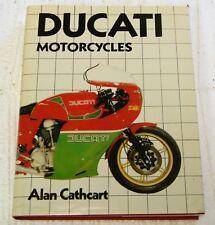 Ducati Motos Libro, Autografiado por Alan Cathcart Forza Ducati, 224 Pgs Duro