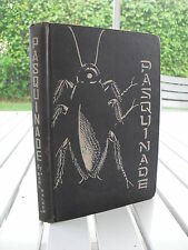 PASQUINADE BY EARL WALKER 1931 SIGNED LIMITED EDITION TO 100 COPIES