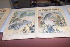 LE PETIT PARISIEN N° 748 1903 LOOPING THE LOOP COURSE PARIS MADRID AUTOMOBILE