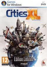 Jeu CITIES XL Edition Limitee pour PC game gestion simulation de ville city NEUF