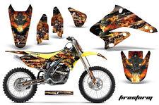 Suzuki RMZ 250 Graphic Kit AMR Racing # Plates Decal Sticker RMZ250 04-06 FIRE