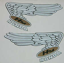 Classic Honda Wings tank decals (CB / RC / CR750)