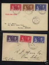 Dominica     and Gilbert Ellice coronation covers