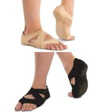NEW Neoprene Cross Wrap Shoes ALL Sizes Tan or Black Belly Dance Modern Jazz