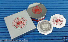 1995 Singapore Mint's 2 oz Lunar Year of the Boar $10 Silver Piedfort Proof Coin