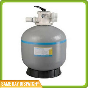 "Davey Monarch Ecopure 25"" / 25 Inch Sand Filter -Swimming Pool - 40mm Valve"