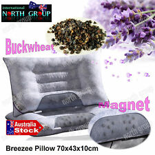 HEALTH CARE BUCKWHEAT MAGNETIC MAGNET PILLOW 70cm x 43cm SYDNEY STOCK
