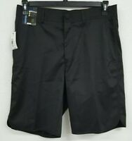Roundtree & Yorke Performance Black Flat Front Men's Shorts NWT $49.50 Choose Sz
