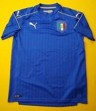 Italy Italia kids jersey 15-16 years 2010 2011 home shirt soccer Puma ig93