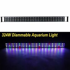 324W 48 inch LED Aquarium Light Bar Full Spectrum Fish Coral Reef Tank SPS LPS