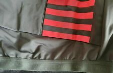 Rapha pro team dark gray hi viz pink training jacket large NWT