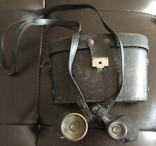 Antique C P Goerz Berlin Germany 4 1/2 Neo Universal Binoculars w/ Case