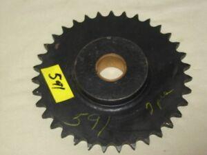 Sprocket  Idler  60 pitch    35 tooth   1-7/16 bore  bronze bearing