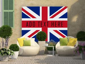 UNION JACK FLAG UK DESIGN - Garden Banner - 3 Sizes